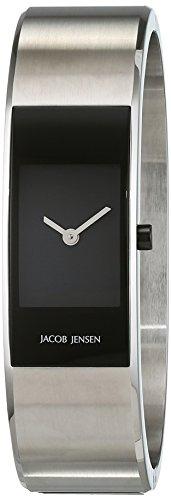 Jacob Jensen Damen-Armbanduhr Analog Quarz Edelstahl 32461