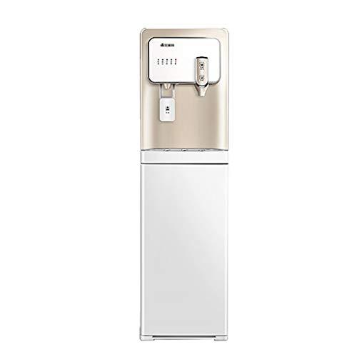 Kühler & Wasserspender Wasserkühler büro heißwasserspender vertikale Tee bar unter dem versteckten Eimer (Color : Weiß, Size : 31 * 33 * 110cm)
