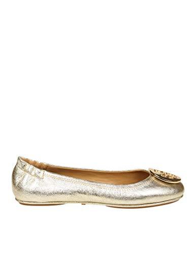 Tory Burch Damen 50522723 Gold Leder Ballerinas