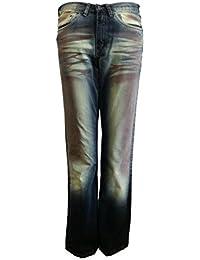 4 Wards Jeans Bleu Vert NOUVEAU (051)
