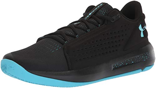 Under Armour UA Torch Low, Scarpe da Basket Uomo, Nero (Black/Alpine), 42.5 EU