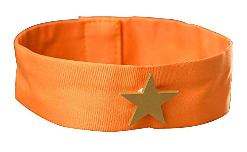 Chong Seng CHIUS Cosplay Costume Orange Collar Band For Sailor Venus Aino Minako Version - Sailor Venus Für Erwachsene Damen Kostüm