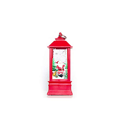 Ensemble de bougies Bougeoir de Noël Festive Bougeoir décoratif Accessoires pour décoration de Noël Table cheminées, Santa Claus, S 13cm*5cm