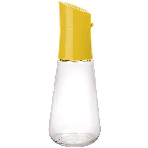 zak! Vinaigrette Dressingflasche 300ml in gelb/transparent, ABS, Tritan, 26x21x11 cm