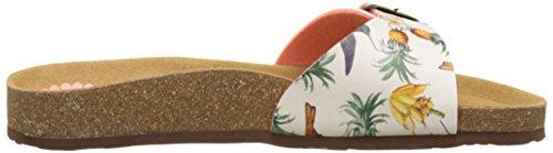Desigual Bio1 Colibri Tropical, Heels Sandals Donna Rosso (red 7019)