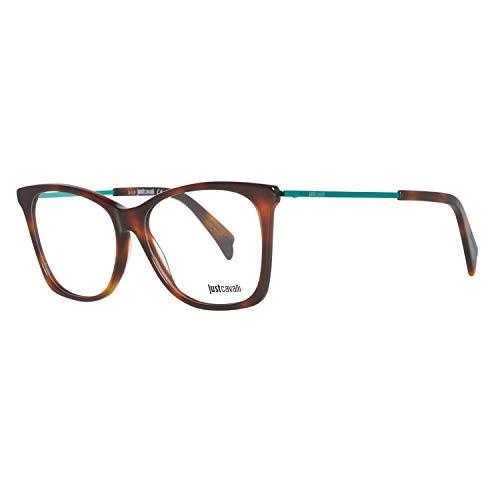 Just Cavalli Damen Brille JC0705 053 54 Brillengestelle, Braun,