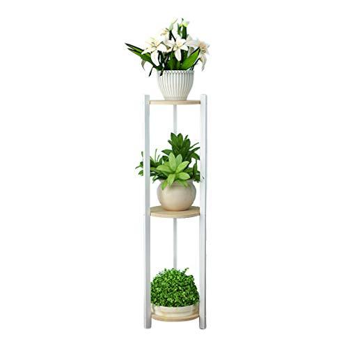 yangxiao01 Blumenständer Mehrschichtiges Design Indoor,Blumen Rack Massivholz Wohnzimmer Balkon,Pflanzenrahmen Wasserdicht Feuchtigkeitsbeständig