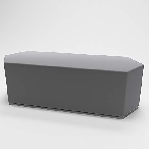 XF Nordic Kreative Farbe Polygon Medium Hocker Modernen Bekleidungsgeschäft Büro Sofa Bank Heim Stoff Rest Hocker, 100 cm X 40 cm X 40 cm Möbel (Color : C) - Wohnzimmer Modernen Futon-rahmen