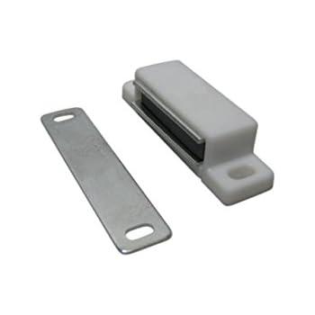 10 x magnetschn pper magnetschnapper magnet schnapper t rmagnete t rmagnet wei 5kg samwerk. Black Bedroom Furniture Sets. Home Design Ideas