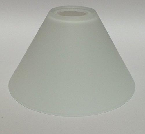 Lampenglas Lampenschirm Ersatzglas E14 opalfarbig weiß KK704 80mm