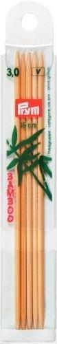 Prym 221202 - Strumpfstricknadeln Bambus 023 15 cm 3,