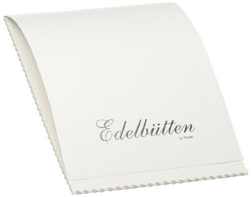 Rössler Papier 2003388003 - Briefblock A4, 40 Blatt Edelbütten, m. Büttenrand, weiß