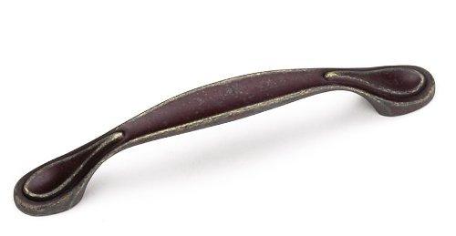 Laurey 24278 Cabinet Hardware 96MM Teardrop Pull, Weathered Antique Bronze by Laurey -