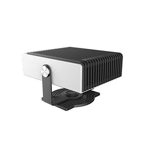 ShangSky Riscaldatore del ventilatore Riscaldatore del parabrezza Antivento 12V 150 W, rotazione di 180 gradi, riscaldamento rapido Termoventilatore silenzioso per interni auto