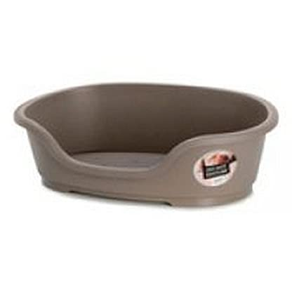Sharples & Grant Ltd Warm Grey Pet Bed, 50cm 1
