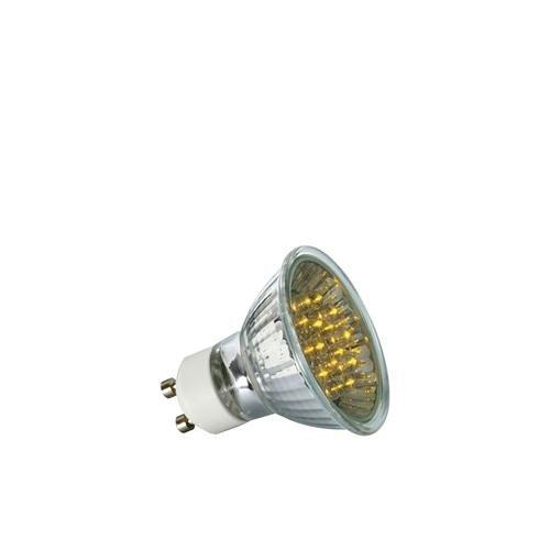 LED reflector lamp 1 W GU10, yellow