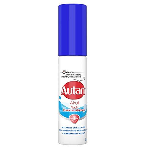 Autan Akut Gel zum Auftragen auf Körper und Gesicht nach Insektenstichen, mit Kamille und Aloe Vera, 1er Pack (1 x 25 ml)