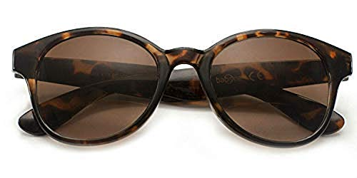 Babsee Kate Our Most Stylish Bifocal Reading Glasses for Women - Magnification Thickness 1.0-3.0 (Brown tortoise, 2.0)