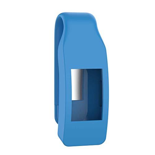 VvXx Schutzhülle für Fitbit Isnpire/Isnpire HR Tracker, aus Metall und Stahl, blau -