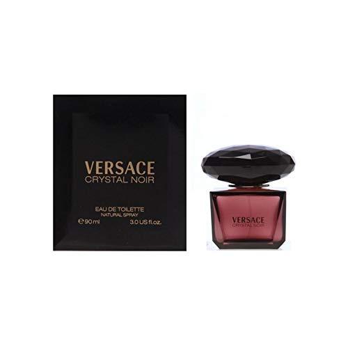 Versace Crystal Noir femme/woman, Eau de Toilette, Vaporisateur/Spray 90 ml, 1er Pack (1 x 90 ml)