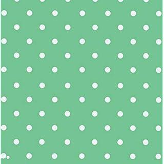 Klebefolie - Möbelfolie Mint Punkte - Dots 0,45 m x 2 m Selbstklebefolie Retro gepunktet - Bastelfolie