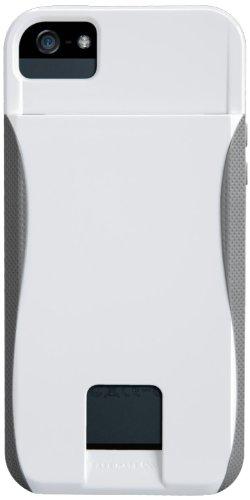 Case-Mate CM022406 Pop ID Case für Apple iPhone 5 weiß/Titan Case-mate Pop Case