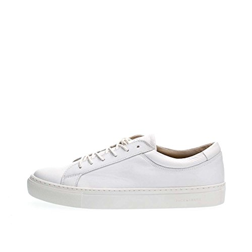 JACK&JONES 12125220 GALAXY LEATHER SNEAKERS Harren White