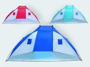 Gebro Toys 419610-Carpa para Playa, 270x 120x 120cm