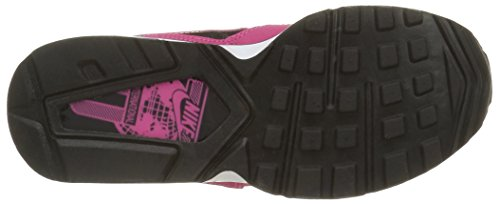 Nike Air Max St Gs, Baskets Basses Fille Noir (Black/Vivid Pink White)