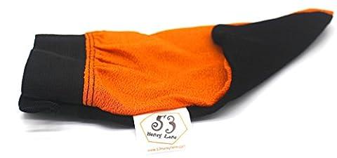 Traditioneller Marokkanischer Hammam Kessa Kesse Gant de Gommage Exfoliant Peeling-Handschuh Waschlappen Körper-schwamm-Ersatz Körper-Peeling Body Scrub mit Schwarzer Seife Körper-reinigung Körper-pflege Spa Wellness