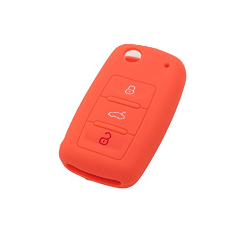 fassport-silicone-cover-skin-jacket-fit-for-volkswagen-seat-skoda-3-button-flip-remote-key-cv9800-or