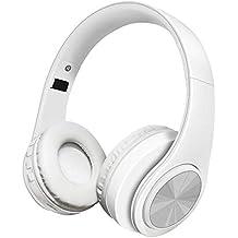 Alitoo Auriculares inalámbricos Bluetooth, Auriculares Estéreo Plegables con Micrófono Cancelación de Ruido Diadema para Computadoras