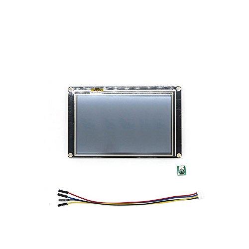 UNIKEL Nextion Enhanced Version NX8048K050 5,0 Zoll HMI LCD Touch Display für Arduino Raspberry Pi