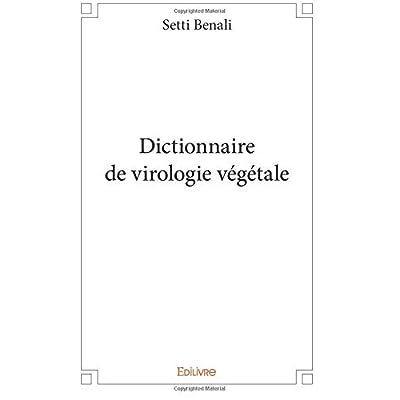 Dictionnaire de virologie végétale