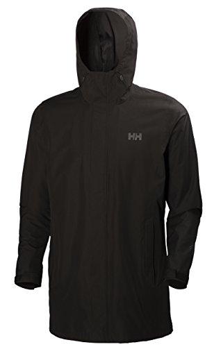 Helly Hansen Herren Mantel Mercer CIS Coat Jacke, Black, XL -