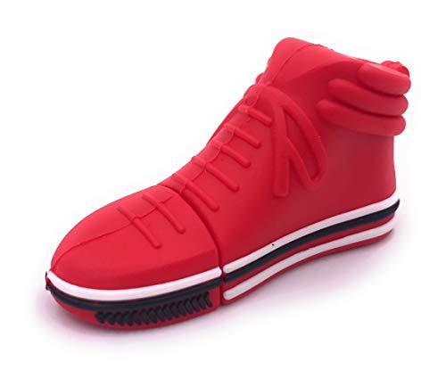 H-Customs Schuh Sneaker Turnschuh Basketball Rot USB Stick Flash Laufwerk 16GB USB 3.0 -