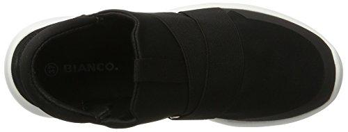 Bianco Damen Slip in Sneaker 32-49170 Schwarz (Black)