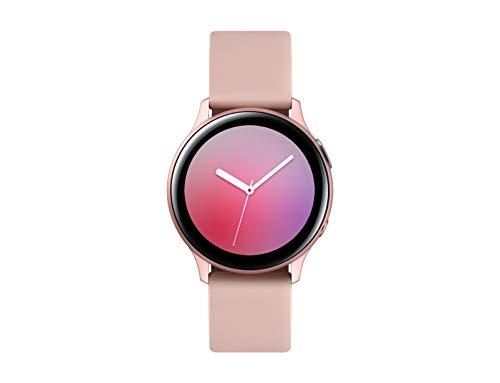 Oferta de SAMSUNG Galaxy Watch Active 2 (Bluetooth) 40mm, Aluminum, Rose Gold