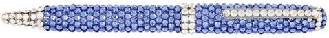 Penna a sfera con cristallo Swarovski blu       Eccellente qualità    Vinto altamente stimato e ampiamente fidato in patria e all'estero    Clienti In Primo Luogo  2886e9