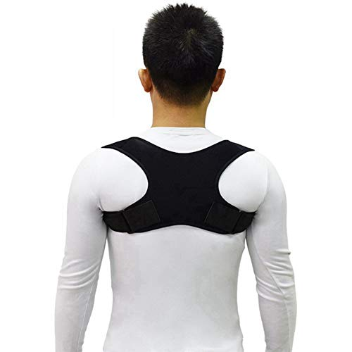 Upper Back Posture Corrector Posture Clavicle Support Corrector Straight Shoulders Brace Correct Dropshipping,Black -