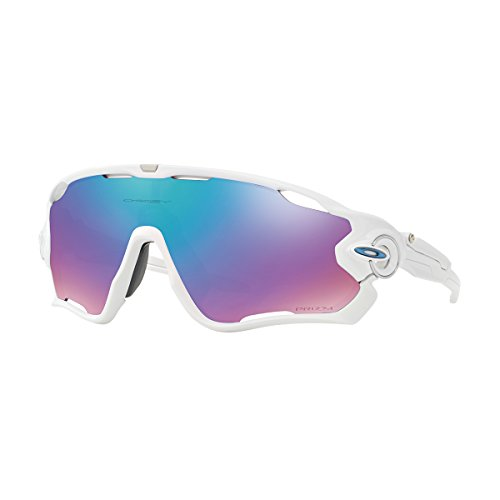 Oakley Unisex-Erwachsene Jawbreaker OO9290 Sonnenbrille, Weiß (Blanco Brillo), 0