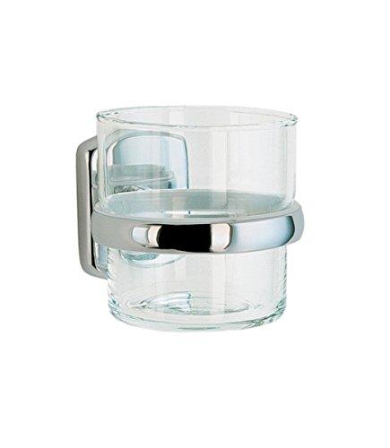 Cabina Brocas para vidrio y rosca de vaso y soporte de vaso para acabado en cromo pulido)