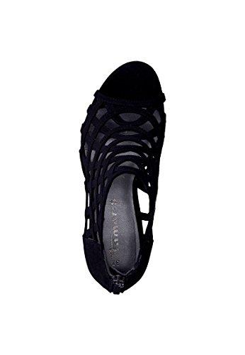 Tamaris 1-28388-38 sandales mode femme Schwarz