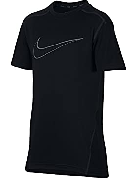 Nike B NK Dry Top SS - Camiseta, Niño, Multicolor(Black/Black/Anthracite/Cool Grey)