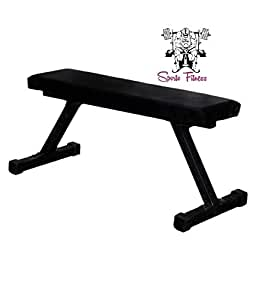 Surprising Sporto Fitness Flat Bench Workout Utility Bench 2X2 Andrewgaddart Wooden Chair Designs For Living Room Andrewgaddartcom