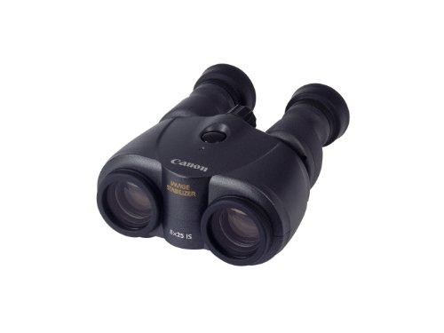 Canon 8x25 IS - Prismático (estabilizador de Imagen, Zoom 8X, 6h) Negro