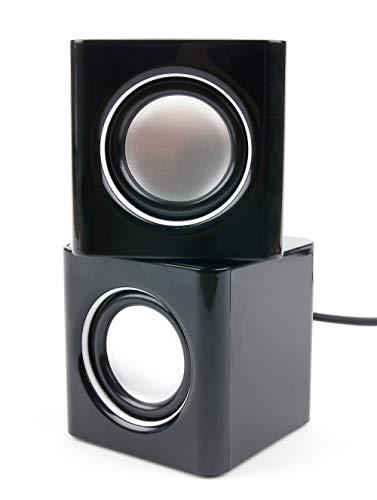 DURAGADGET Stereo Lautsprecher, kompatibel mit LENOVO IdeaTab Lynx K3011 / IdeaTab S6000L Tablet PCs (Jelly Bean Tablet Android)