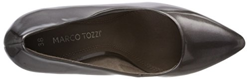 Marco Tozzi Damen 22415 Pumps Braun (Pepper Met.Pat)