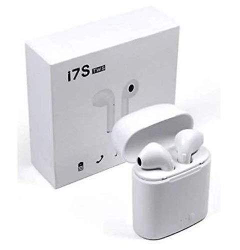 Wireless Headset Bluetooth i7s Earpieces TWS Ear Bud Twins Earphone Powerfull Speaker deep bass lpkstore