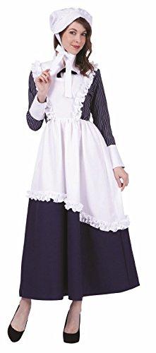 Frauen Kostüm Colonial - COLONIAL LADY pinstripe- ADT S